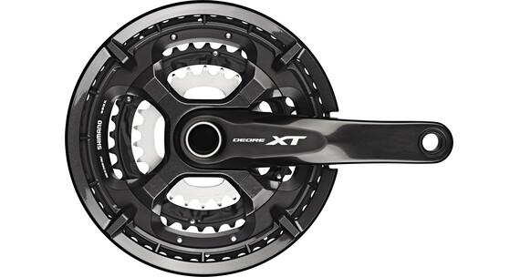 Shimano Deore XT Trekking FC-T8000 Zwengel 10x 48-36-26 tanden zwart